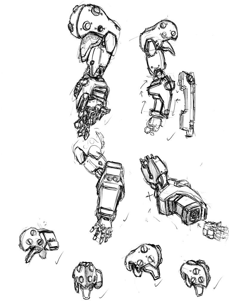 robot arm by jpjohansson on deviantart share on robot