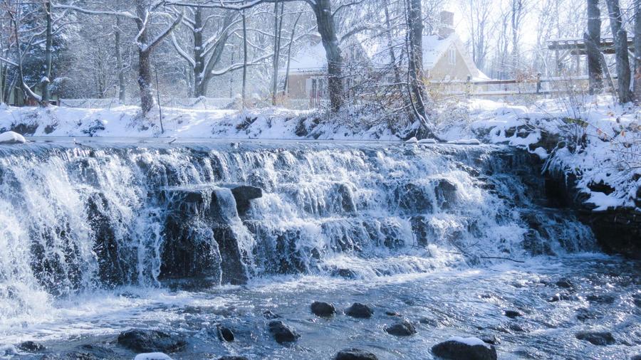Winter Falls by Ravenfiendstock