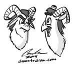 Owl-Goat