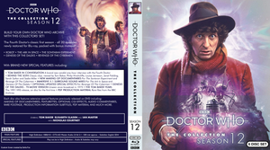 Doctor Who: The Collection Season 12 Blu-ray Cover