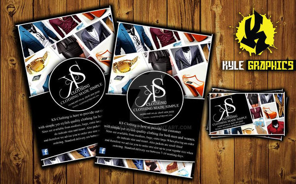 Ks clothing flyers and business cards by kyleturner on deviantart ks clothing flyers and business cards by kyleturner colourmoves