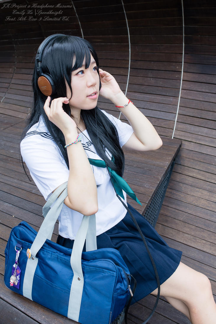 JK project x Headphone Musume by speedknight
