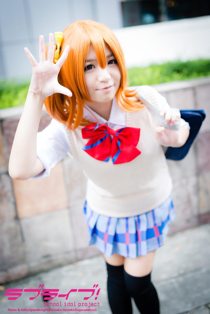 Honoka Kosaka by speedknight