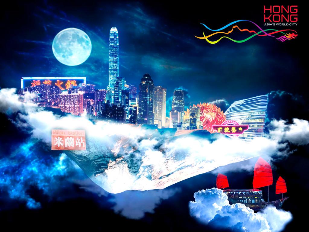 Hong Kong City by Pablo-Oz