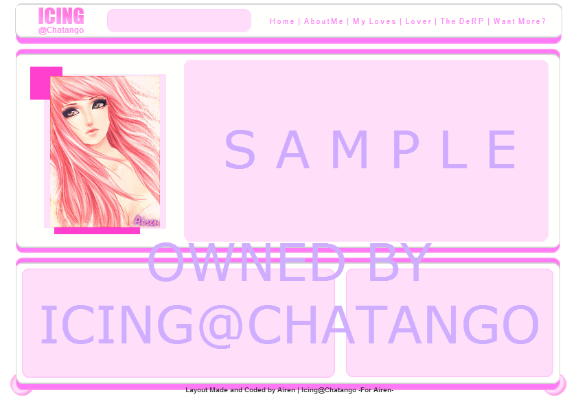 Layout Made For Icing@Chatango com ~3~ by Airen-Chatango on