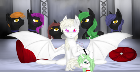 {CM} White pony and others (ver.1) by SilviaWing