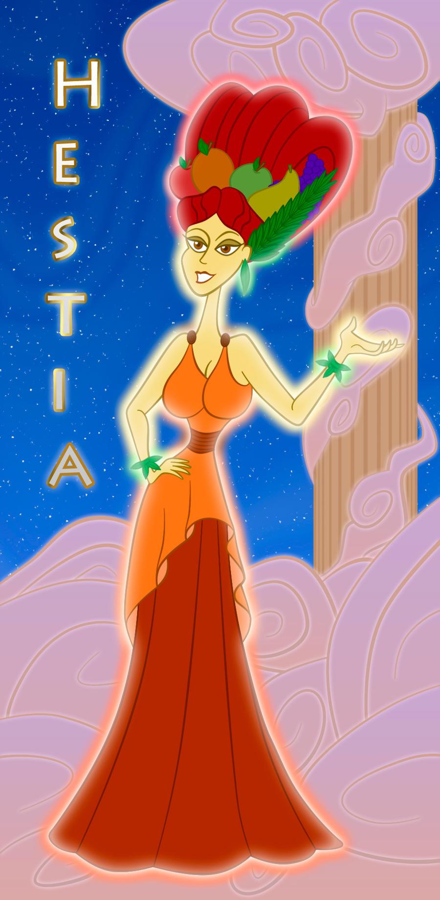 Hestia - Vesta by 666-Lucemon-666 on DeviantArt