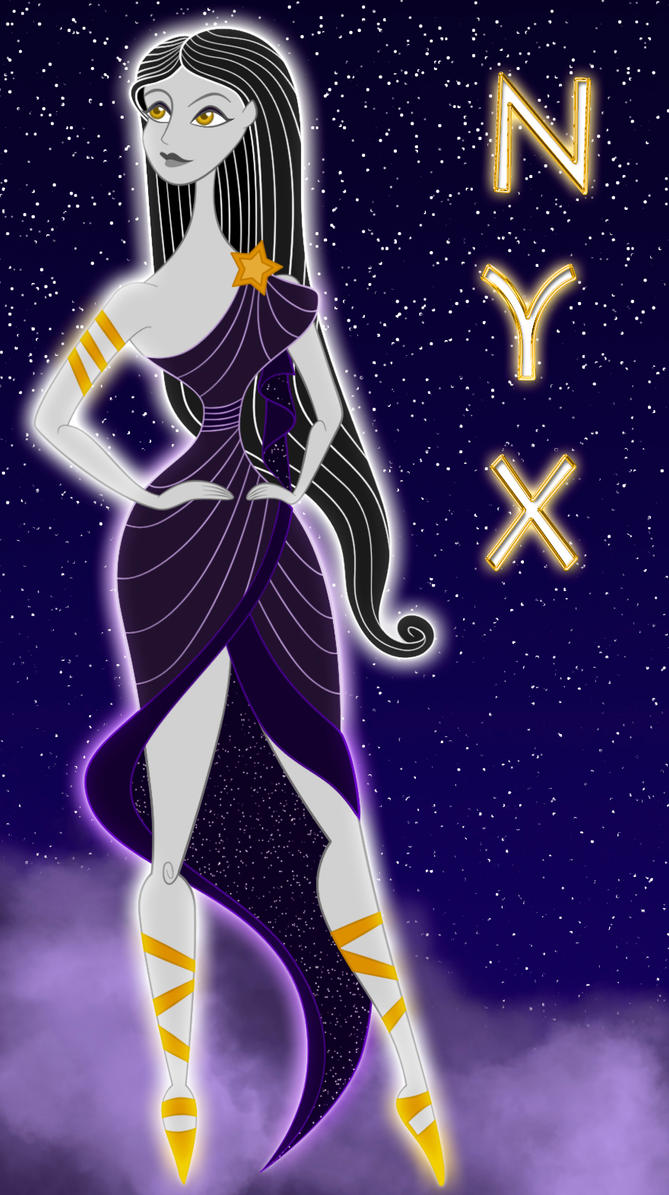 nyx nox by 666lucemon666 on deviantart