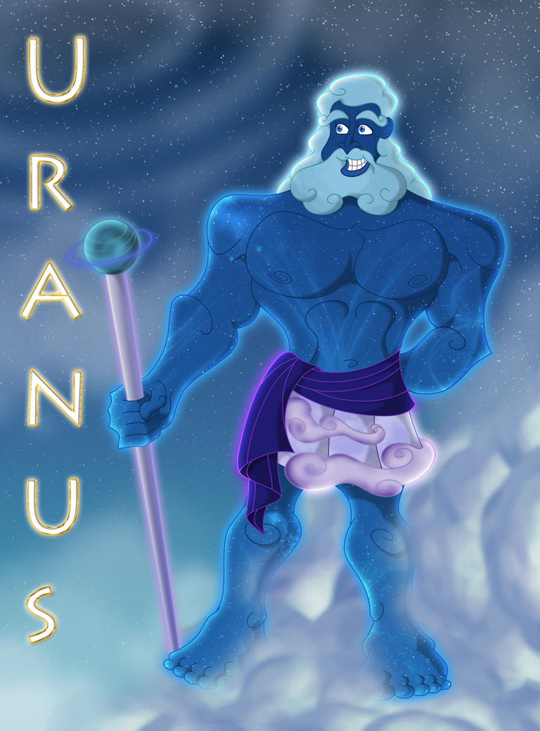 Uranus Greek Mythology Uranus - Caelus Pictur...