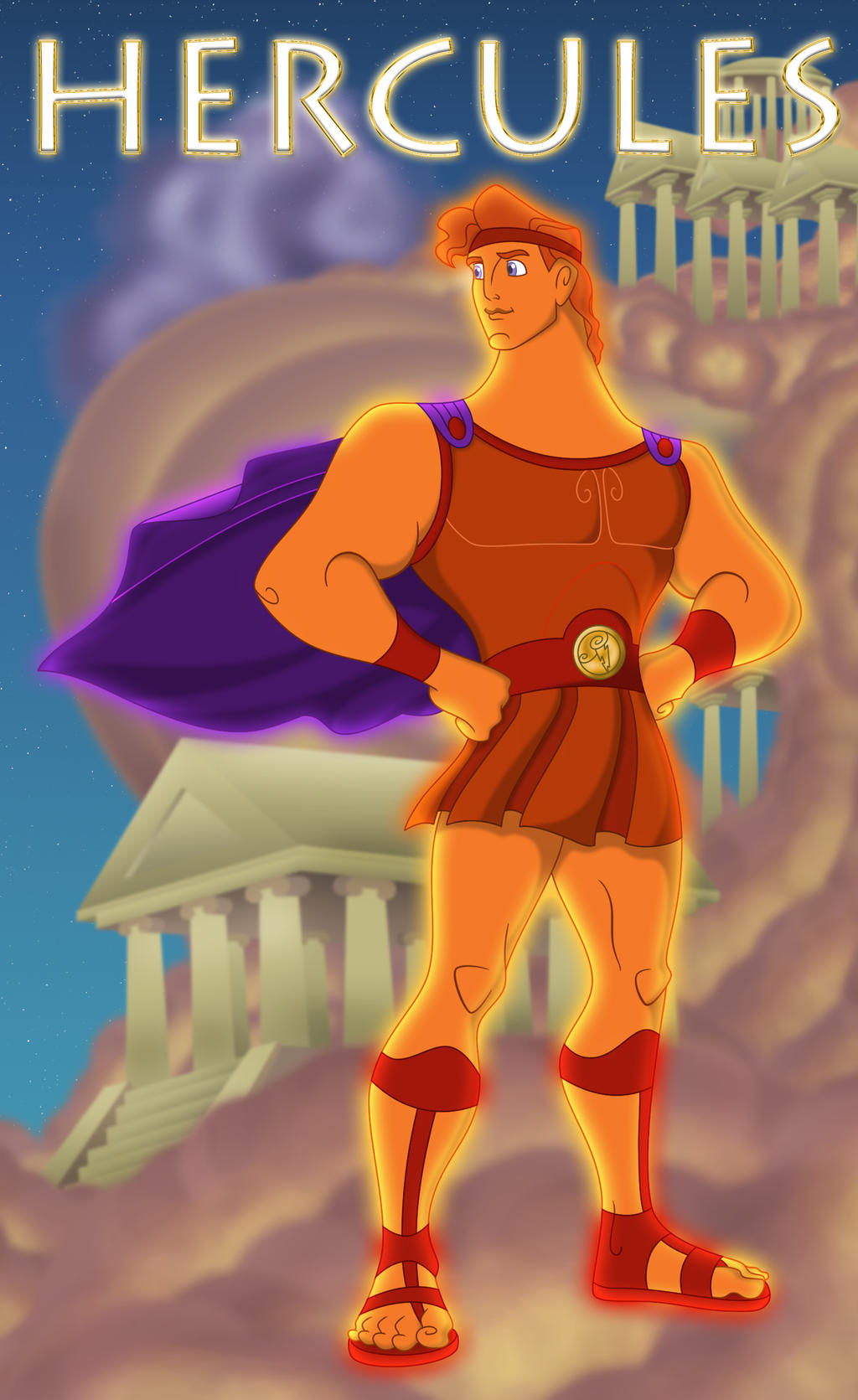 Hercules - Heracles by 666-Lucemon-666