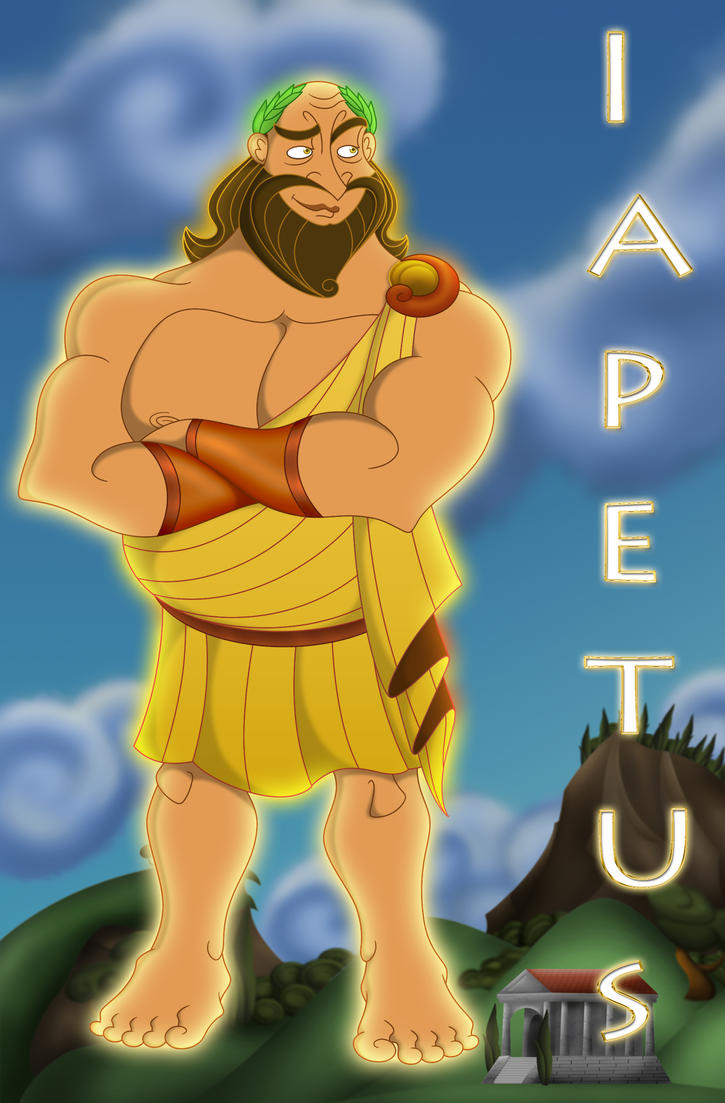 Father of atlas and prometheus