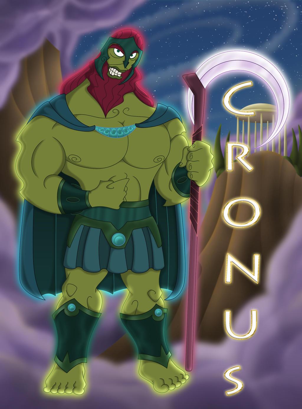 Cronus - Saturn by 666-Lucemon-666