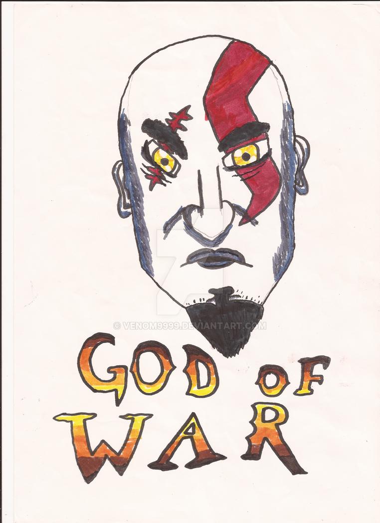 I Am the God of War by venom9999
