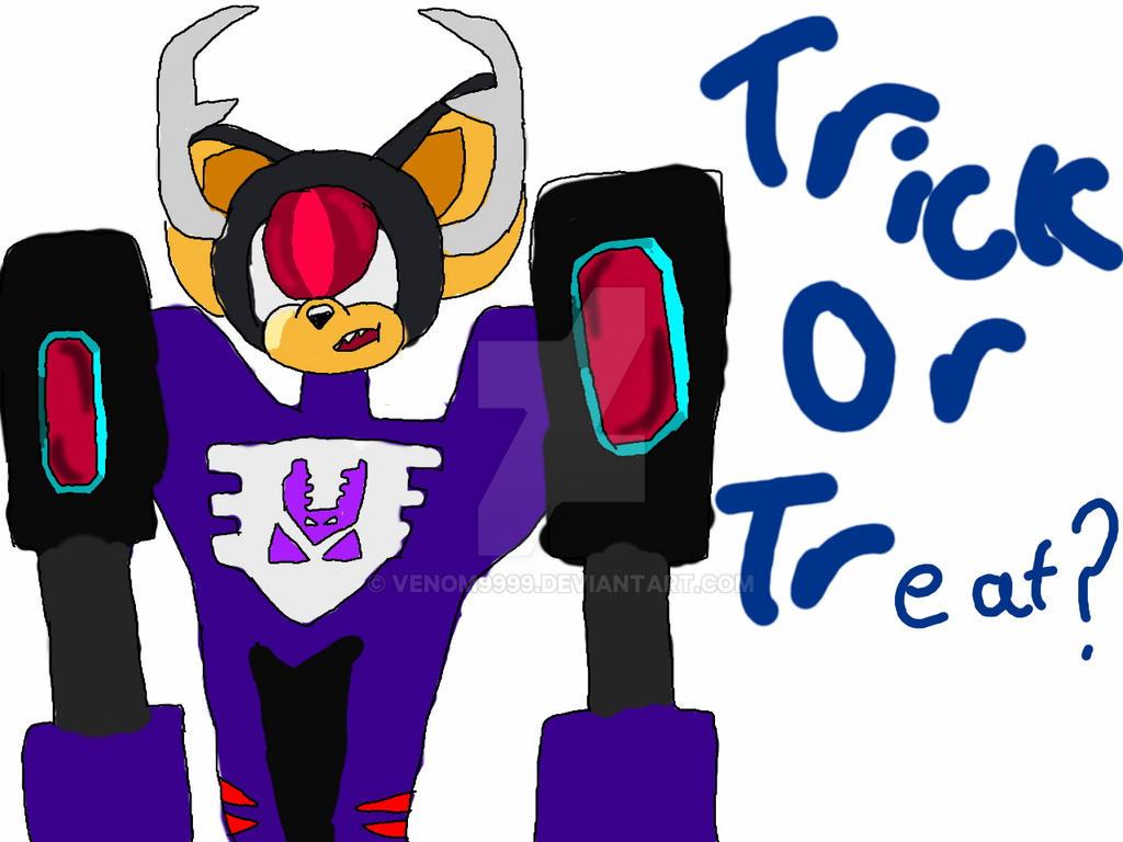 Trick or treat by venom9999