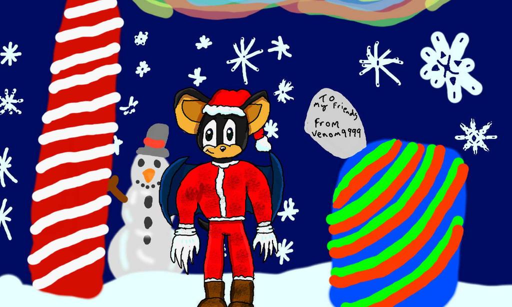 Happy Christmas/Holidays by venom9999