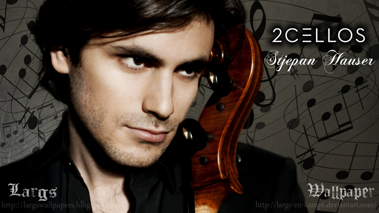 2Cellos - Stjepan Hauser by LargsWall on DeviantArt