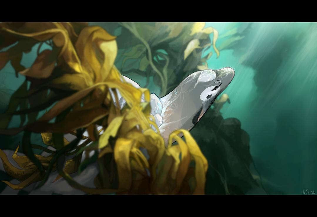 Kelp Guardian by ninejays