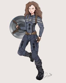 Hey look its Captain America [C]