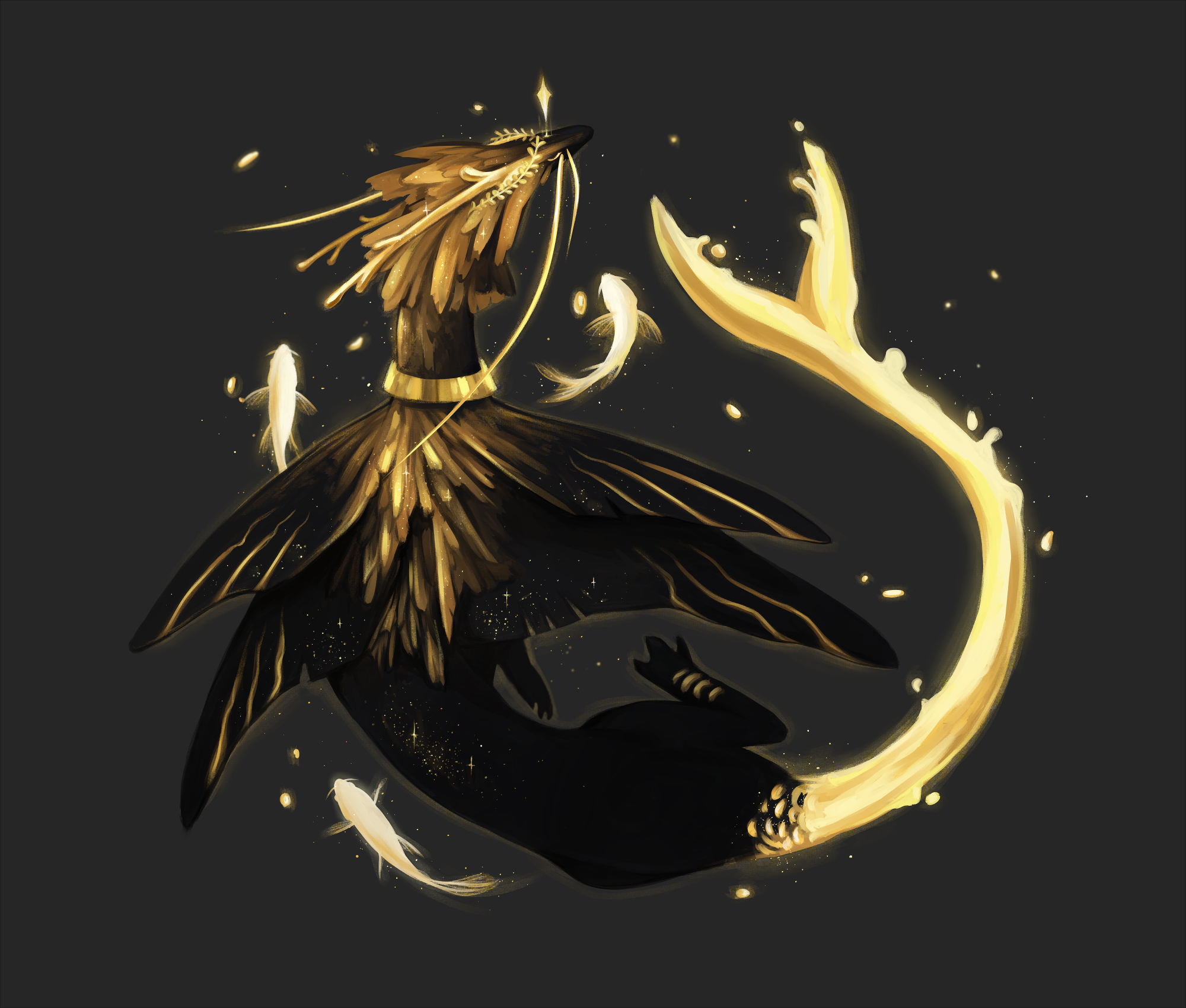 [CLOSED] The Golden Goddess by ninejays
