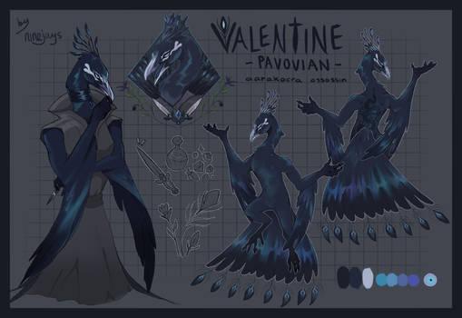stabby peacock man (DnD)