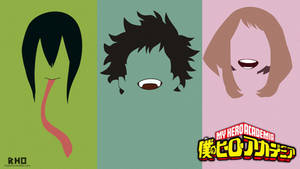 Boku no hero academia minimal wallpaper by freakRHO