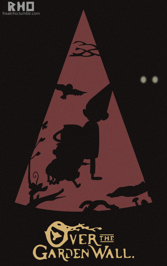 over the garden wall poster minimal by freakrho - Over The Garden Wall Poster