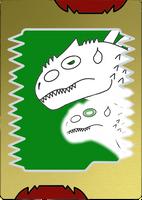 Skyyler (Weretyrant form) card by opulencesky