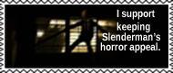 A creepy Slenderman is a good Slenderman