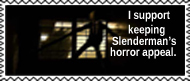 A creepy Slenderman is a good Slenderman by annoyedslendermanfan