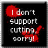 I don't support cutting by Thana-Banana