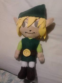 The Legend of Zelda - Windwaker Link Plush
