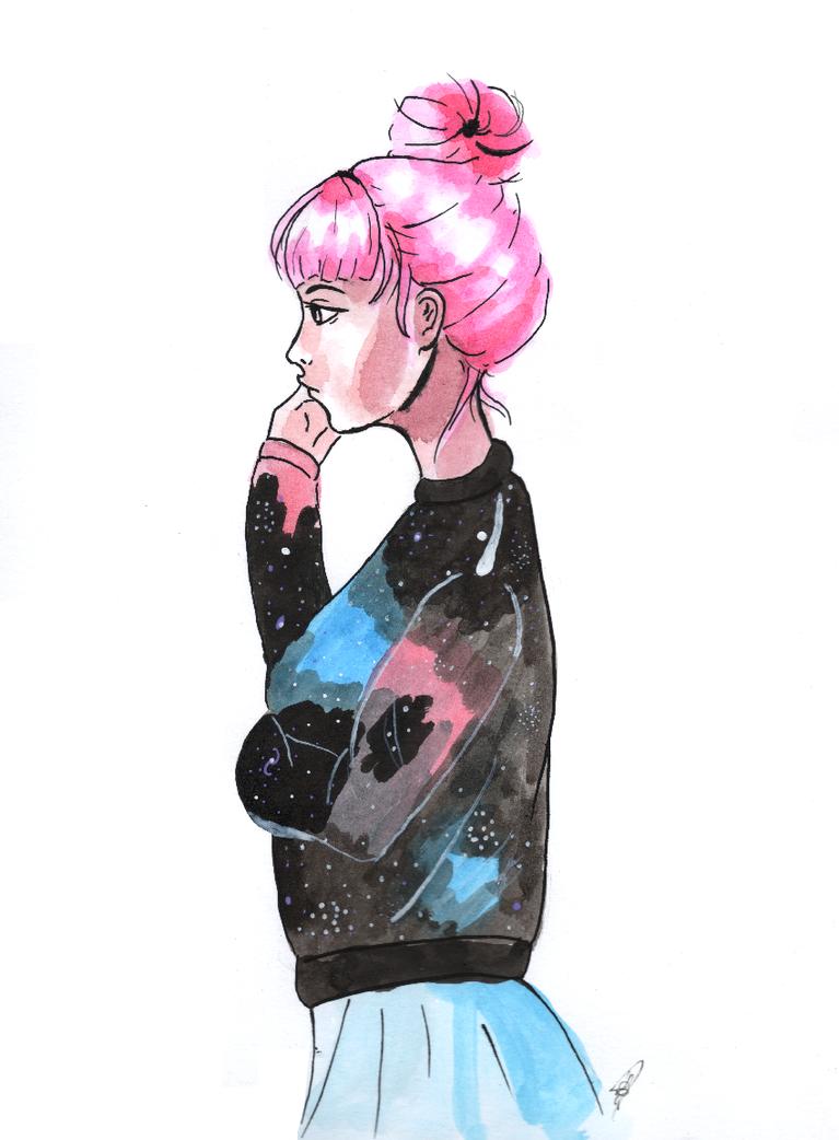 Princess Bubblegum by laisdossin