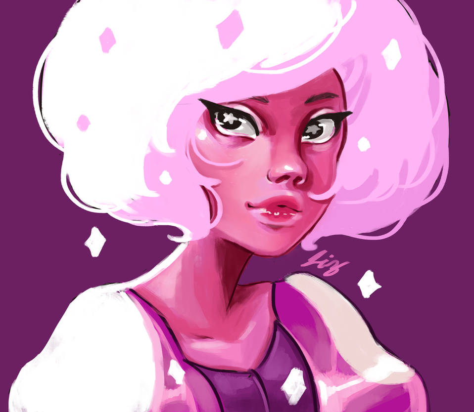 Pink Diamond by laisdossin