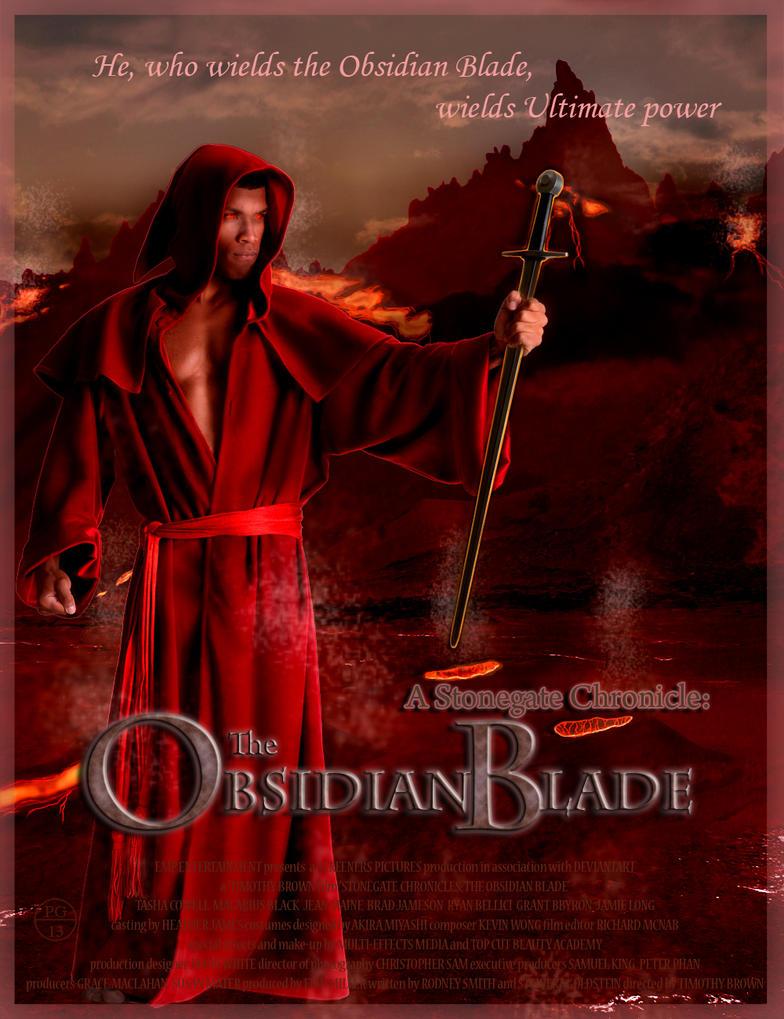 Obsidian Blade - Estavor by Akira-Miyashi