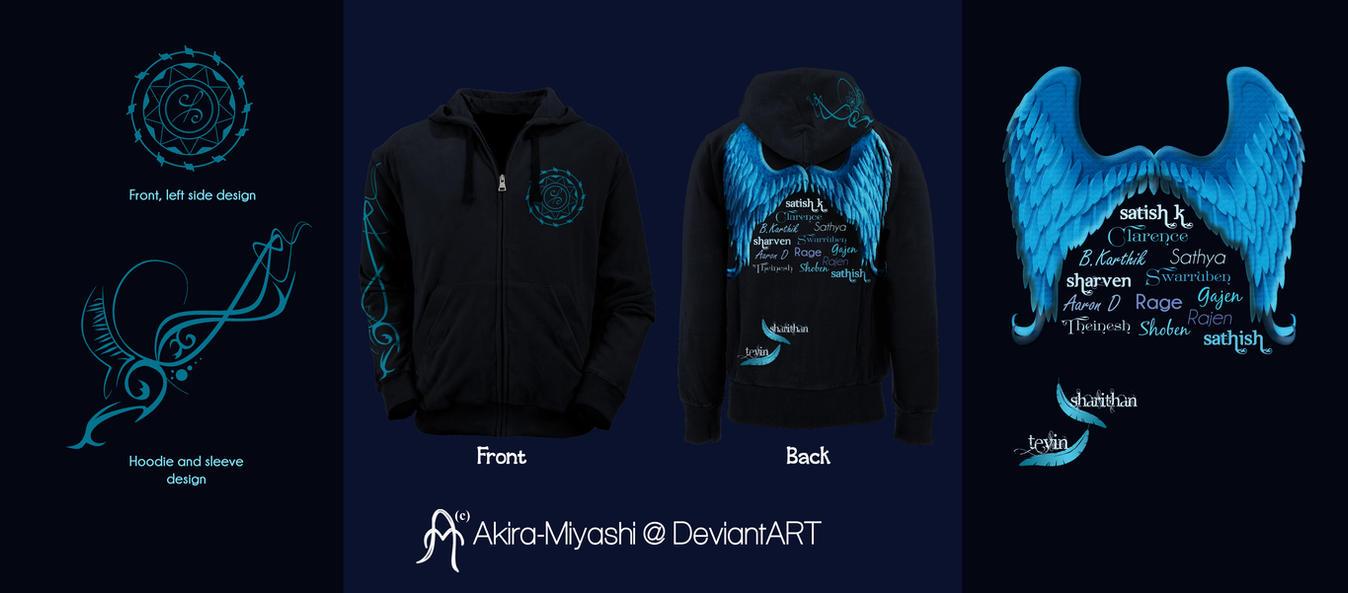 Shirt hoodie design - Commission Hoodie Design By Akira Miyashi