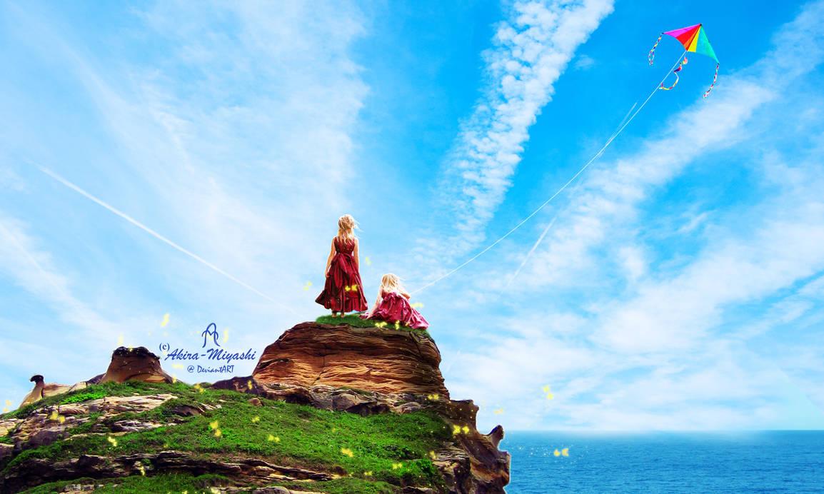 Sky Blue by Akira-Miyashi