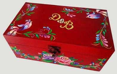 Floral Wedding Box by Akira-Miyashi