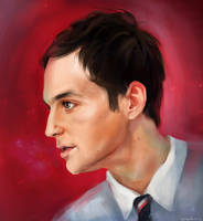 Sheldon Cooper by OrigaSh