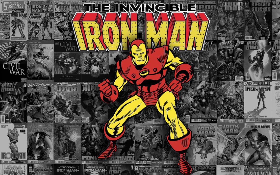 Vintage Iron Man Wallpaper By SoRandomPokemonStuff
