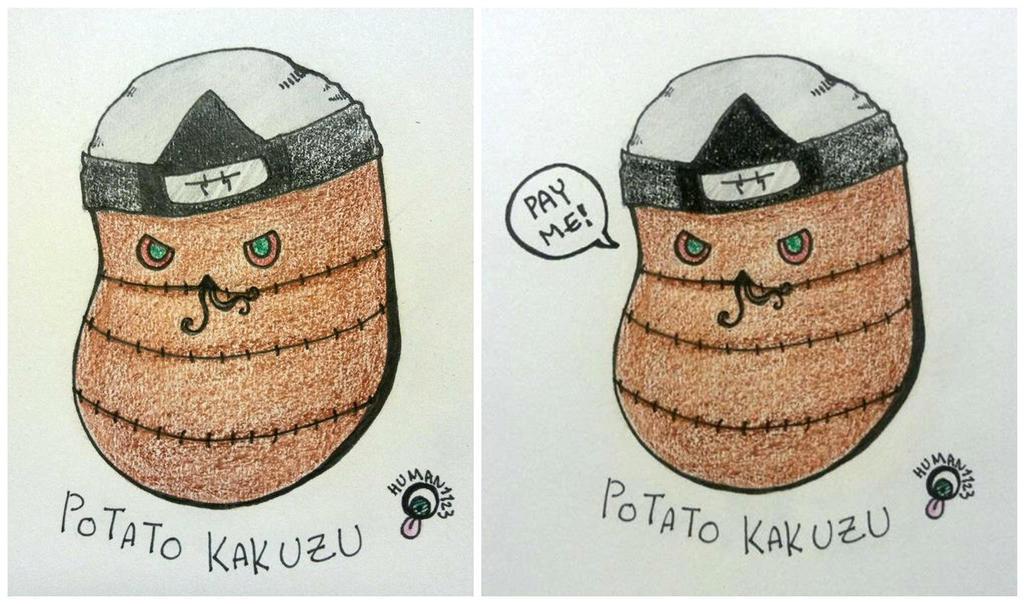 Potato Kakuzu by human1123