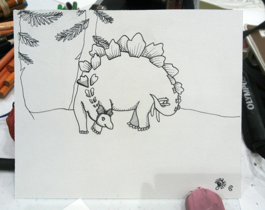 Chibi: Dinosaur by human1123