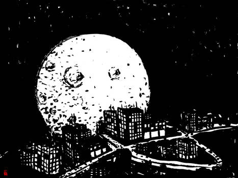 Trippy Moon