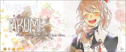 Takumi, the kitty lover by LTasartir