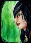 Watercolor// Susan-san portrait