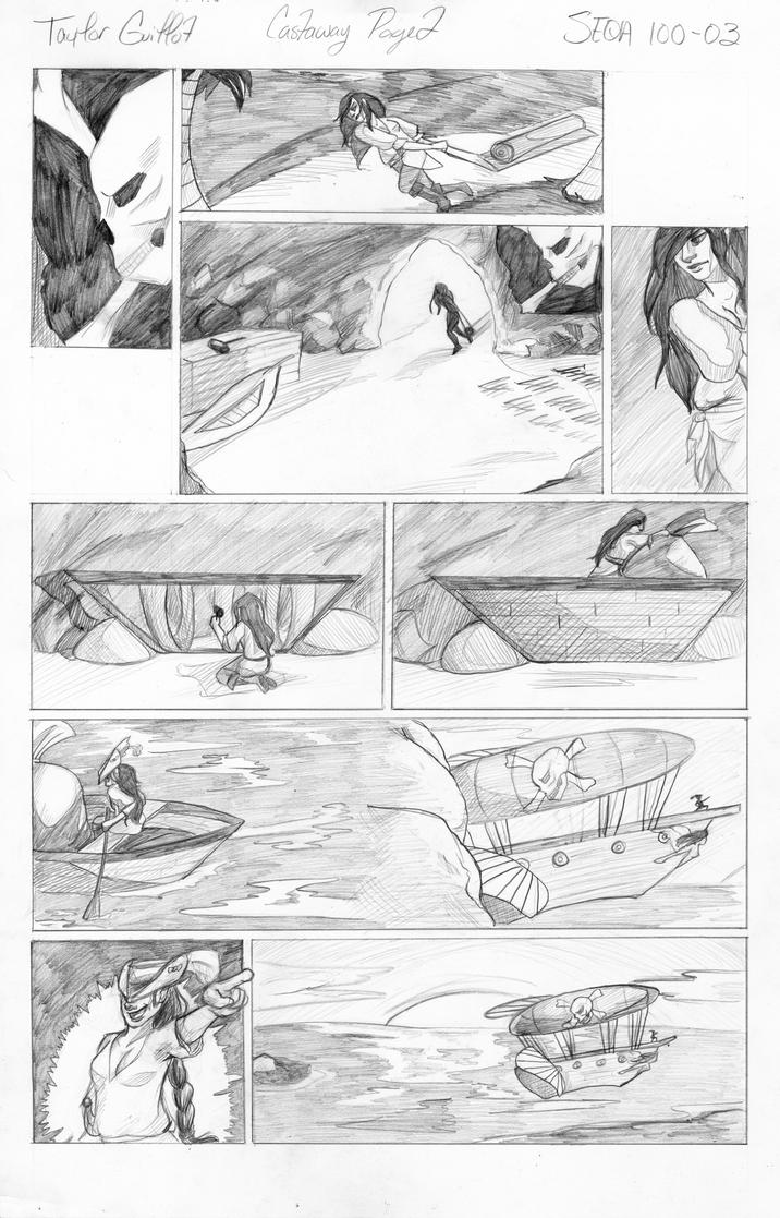 Castaway Comic page 2 by tguillot