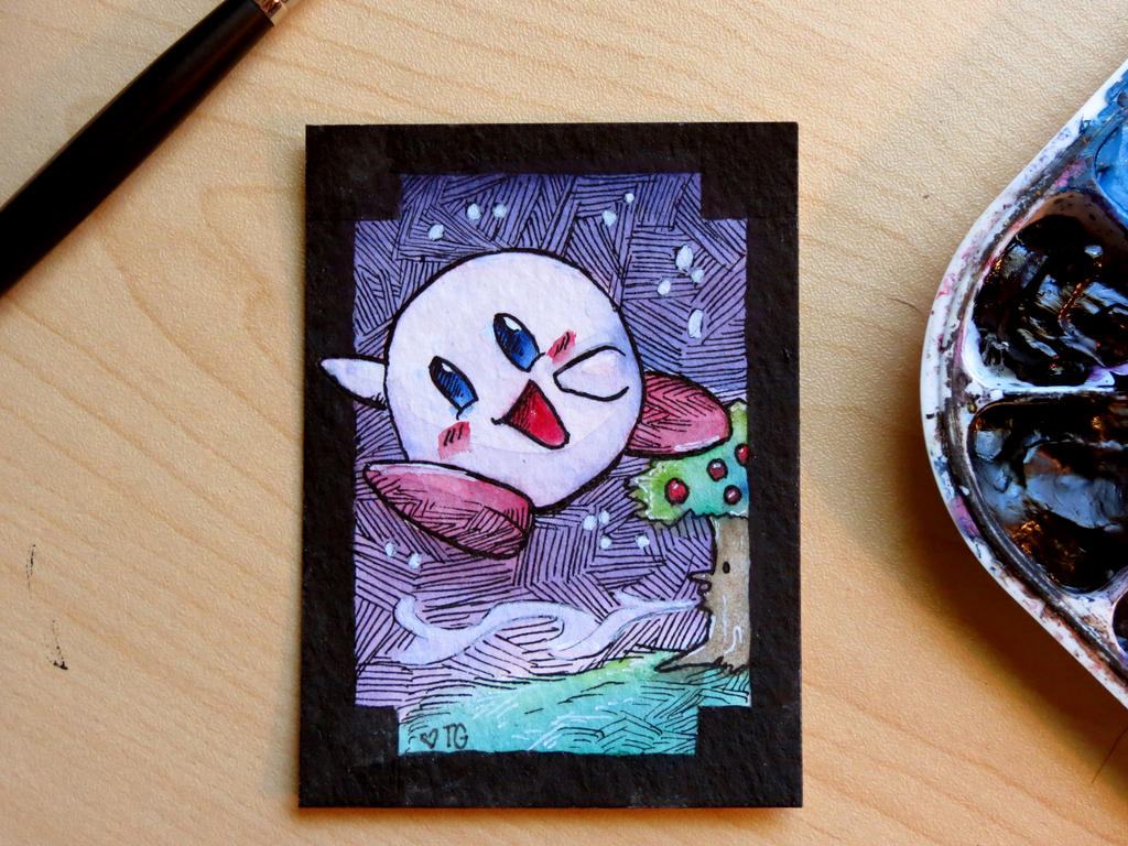 ACEO// Beforeweshatter Trade by tguillot
