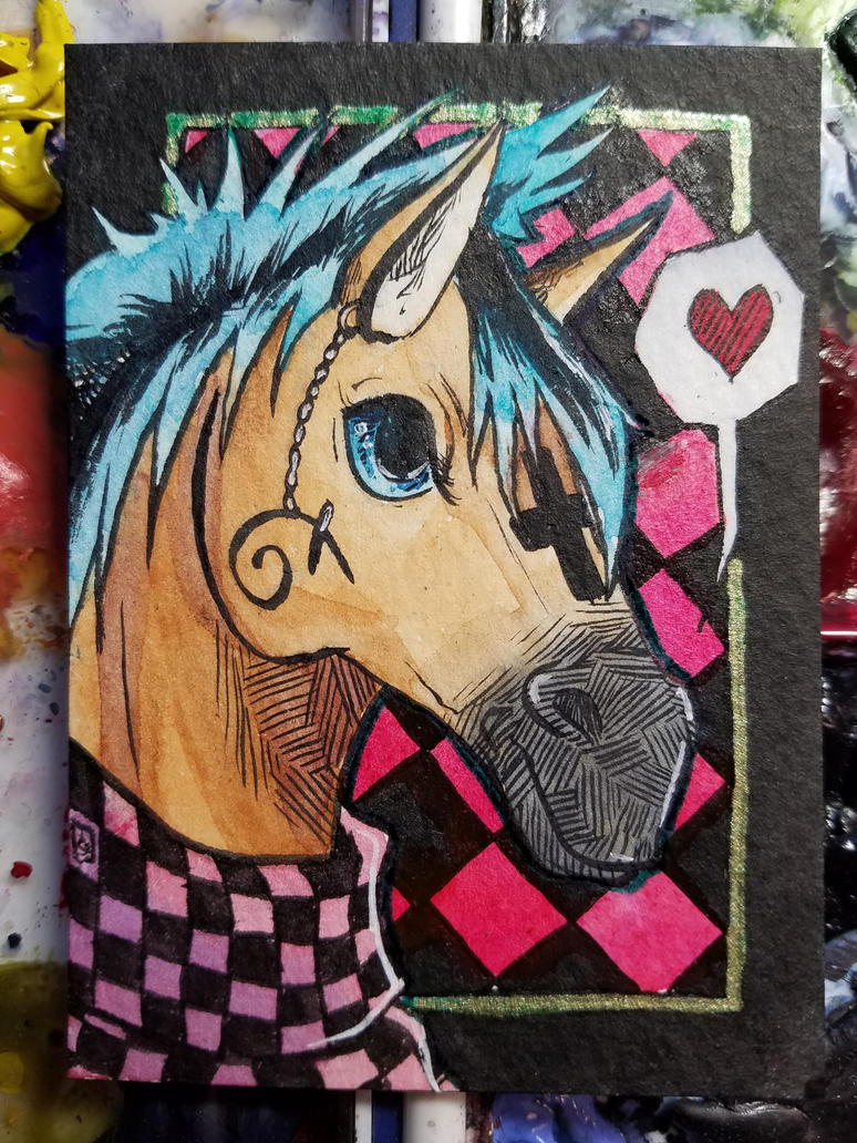 ACEO// Acrux for Spiritwindcaper by tguillot