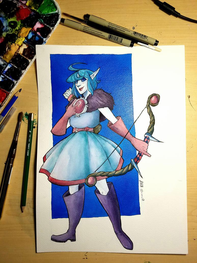 Illustration// Elsmyr!! by tguillot