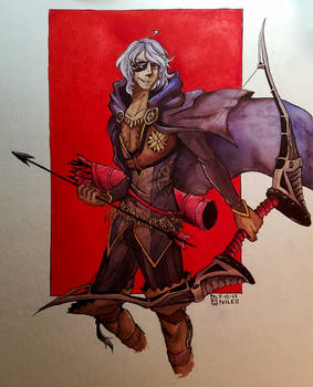 Illustration// Niles from Fire Emblem
