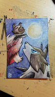 ATC// Rockruff Moon for Urocyon-fox